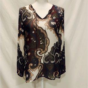 NWOT Ecru peasant blouses size S.